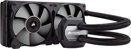 Corsair Hydro H100i V2 Rgb Wasserkühlung Schwarz Computer Zubehör