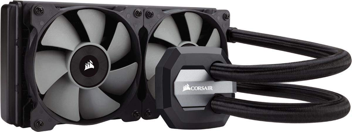 CORSAIR Hydro Series H100i v2 AIO Liquid CPU Cooler, 240mm Radiator, Dual 120mm PWM Fans, Advanced RGB Lighting and Fan Software Control (Renewed)