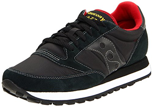 Saucony Originals Men's Jazz Original Fashion Sneaker,Black/Red,7 M US
