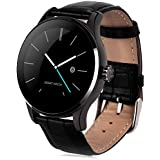 LENCISE Bluetooth Smartwatch Heart Rate Monitor Remote Camera Push Messages For Android ISO MTK2502C Smart Watch