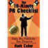 The 10 Minute Public Relations Checklist - How to Earn the PR You Deserve