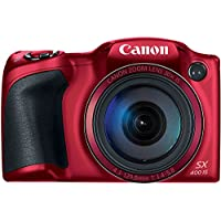 Canon PowerShot SX400 Digital Camera with 30x Optical Zoom (Red) Advantages Review Image