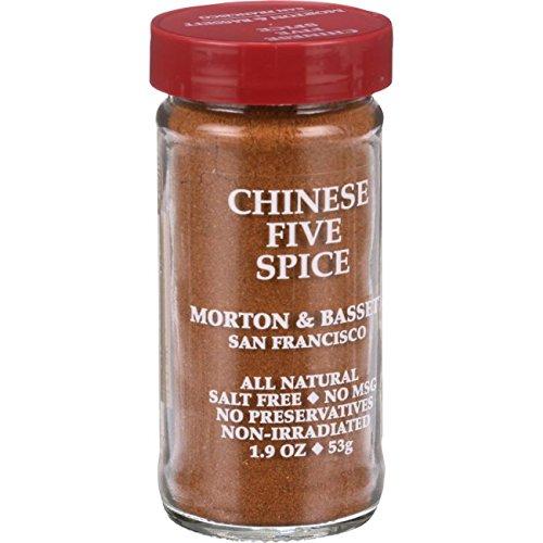 MORTON & BASSET Chinese Spice, 1.9 OZ - Seasoning Spice Five Chinese