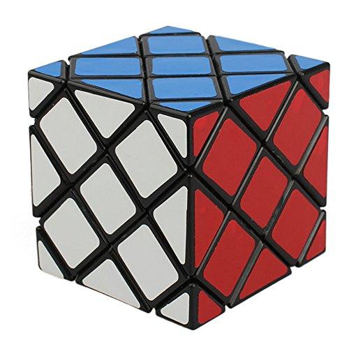Willking Master Skewb Puzzle Magic Cube Twisty Toy Gift Irregular Brain Tester Black