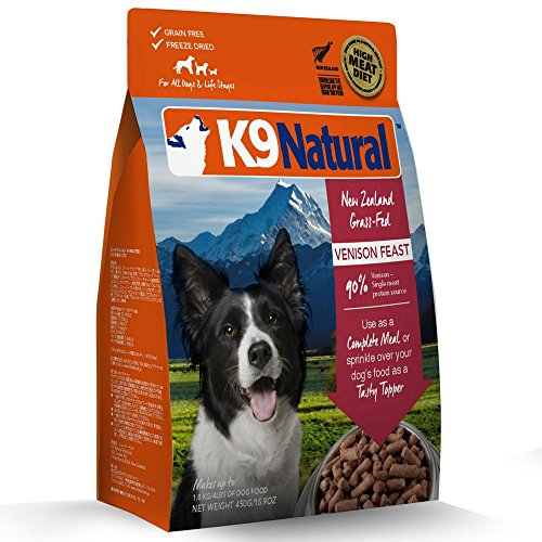 K9 Natural Freeze-Dried Dog Food Venison 1.1 lbs