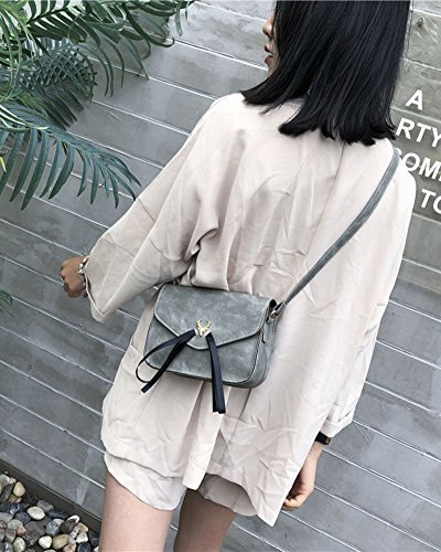 Vintage Woman Black Green Handbag Light Shoulder Shoulder Casual Bag YwC4C8x1q