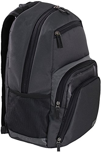 Laptop Backpack, Sity Waterproof Backpack for Travel with USB Charging Port Headphone Black