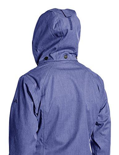 VAUDE Doppeljacke Women's Rincon 3in1 Jacket - Soft shell para mujer Sailor Blue