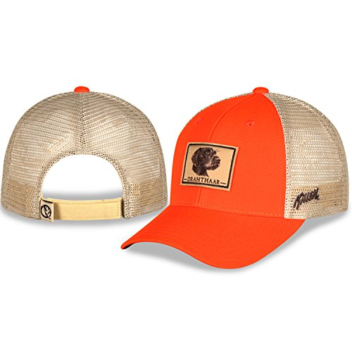 Gills-N-Game Drahtaar Blaze Orange and Mesh Hunting Adjustable Fit Hat