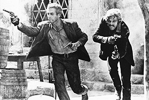Butch Cassidy & The Sundance Kid Guns Blazing Poster 18x24 Poster