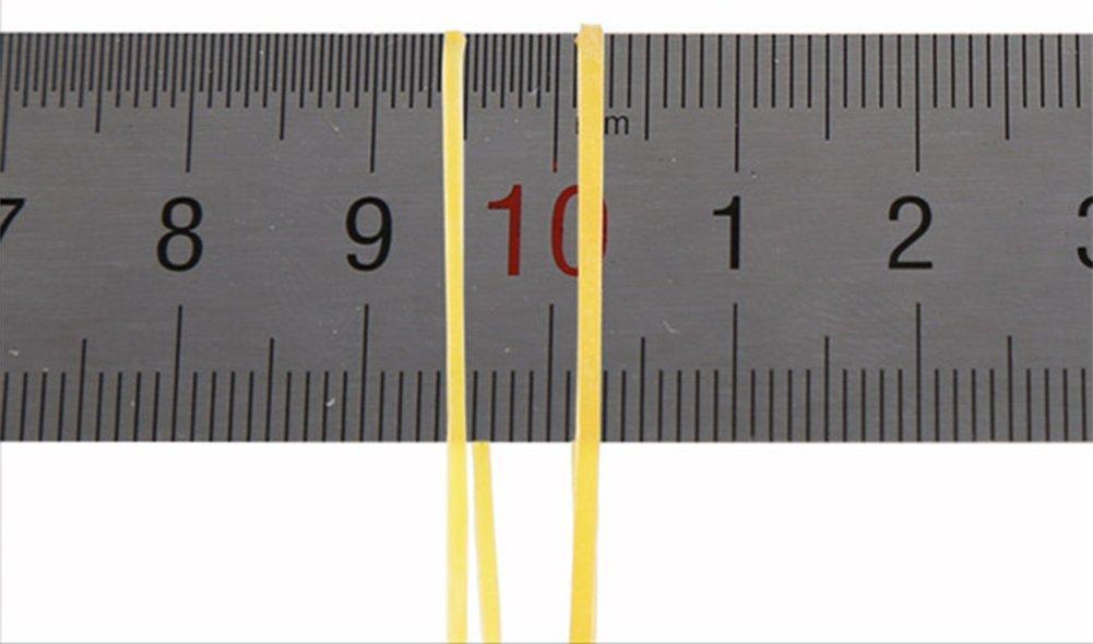 Cosanter Bandas de Goma El/ásticas 70 mm por 1,5 mm de Material de Goma para Oficina y Su Uso Diario