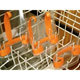 Baggie Washer - Wash Reusable Baggies in the Dishwasher! Works for Quart-, Sandwich- Or Snack-sizes (Set of 3)