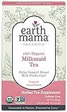 Earth Mama Organic Milkmaid Tea Bags for Breastfeeding Mothers, 16-Count