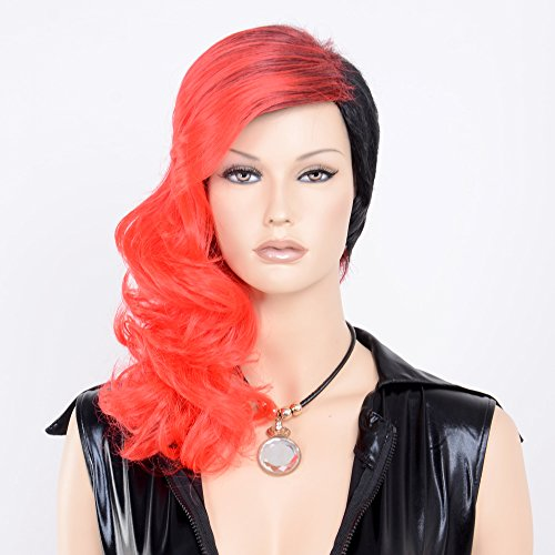 Stfantasy Wigs for Women Medium Wavy Heat Friendly Synthetic Hair 17