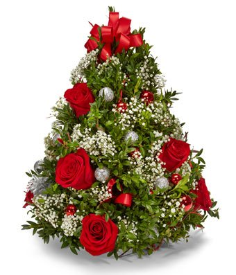 Believe In The Magic Of Christmas - eshopclub Same Day Christmas Flower Delivery - Online Christmas Flowers - Christmas Flowers Bouquets & Plants - Send Christmas Centerpiece by eshopclub