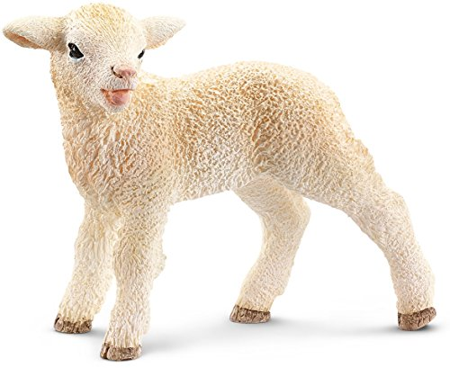 - Schleich Lamb Toy Figure