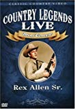 Rex Allen, Sr.: Country Legends Live Concert