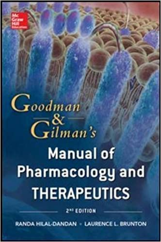 Book Goodman and Gilman Manual of Pharmacology and Therapeutics, Second Edition (Int'l Ed)