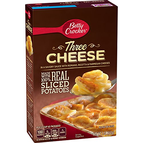Betty Crocker Three Cheese Potatoes, 5 Ounce