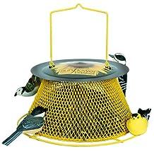 Woodstream Corp No/Green and Yellow Sunflower Basket Bird Feeder SB00316