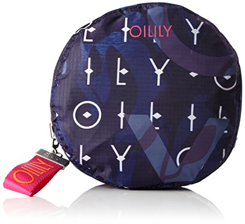 Oilily Damen Enjoy Shopper Xlhz Henkeltasche, 20x31x46 cm Blau (Dark Blue)