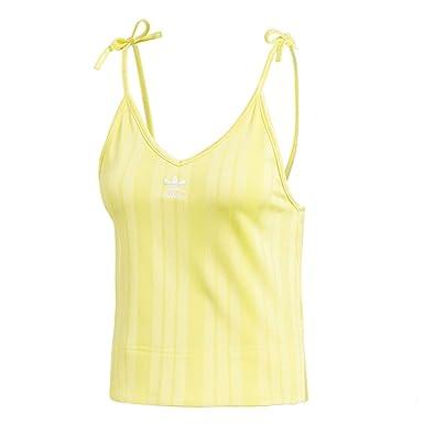 adidas Fsh L Camiseta Tirantes (Tank Top) Mujer Amarillo 30 XS (X-