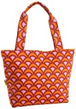 Amy Butler Miss Kim Small Tote,Fountains Tangerine,one size, Bags Central