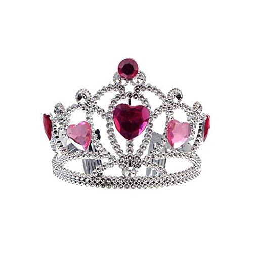 Fancy Party Halloween Princess Tiara With Pink