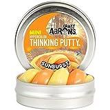 """Crazy Aaron's Thinking Putty, Hypercolor Sunburst 2"""" Mini Tin"""