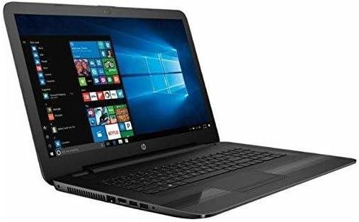 HP 17.3 inch HD+ Flagship High Performance Laptop PC, Intel Core i7-7500U 2.7GHz Dual-Core, 8GB DDR4, 1TB HDD, DVD RW, Stereo Speakers, Webcam, WIFI, Windows 10, Black (Renewed)