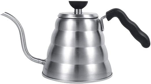 Tetera de acero inoxidable Teteras Tetera de café 1L 304 de acero ...
