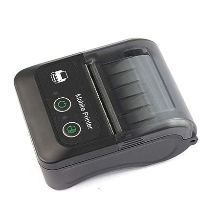 QWERTOUY Bluetooth BT Impresora de Etiquetas Impresora ...