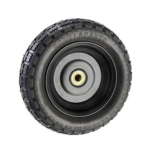 """Gorilla Carts GCT-10NF Replacement Tire, 10"""""""