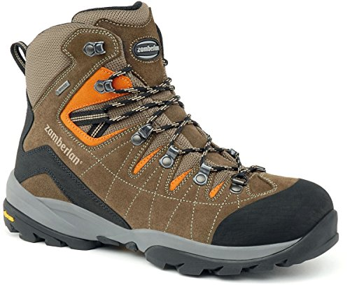 Zamberlan Mens 570 Torrent Gore-tex Rr Backpacking Boot Brun / Orange