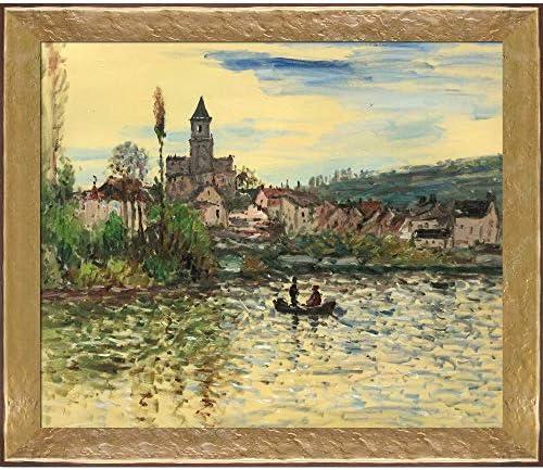 [해외]overstockArt Seine at St Cloud 1890년 Edvard Munch의 핸드 페인티드 오일 / overstockArt Seine at St Cloud 1890년 Edvard Munch의 핸드 페인티드 오일