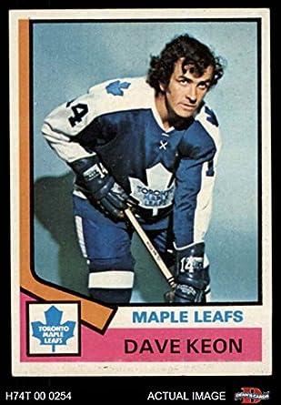 d7db040b4 1974 Topps   151 Dave Keon Toronto Maple Leafs (Hockey Card) Dean s Cards 7