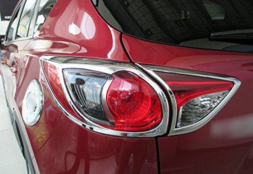 ABS Chrome Rear Tail Light Lamp cover Trim pezzi per auto di