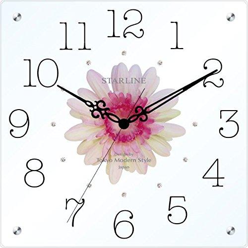 スターライン アートフラワークロック 28cm ピンク SW-1198PK B074M6Y5D4 ピンク ピンク