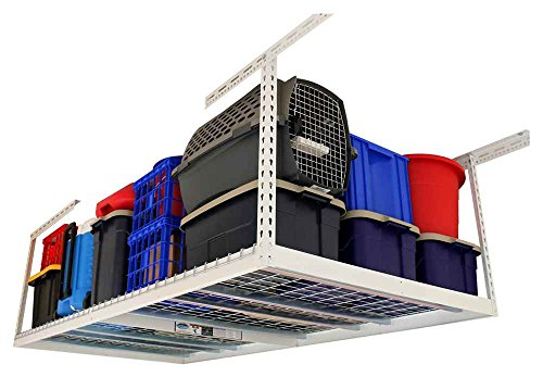 Review 3 ft. x 8 ft. Garage Overhead Storage Rack (18 By MonsterRax by MonsterRax