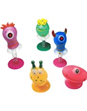 6 Assorted Jump Pop Up Monster Toys / Childrens Kids Party Bag Fillers Boys by Childrens Party Accessories