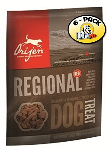 Orijen Tundra Freeze-dried Dog Treats 2oz. (Pack of 6)