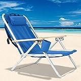 Best Beach Chairs - SSLine Portable Backpack Beach Chair Patio Folding Lightweight Review