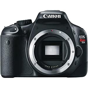 Canon EOS Rebel T2i 18 MP CMOS APS-C Digital SLR Camera with 3.0-Inch LCD, Body Only