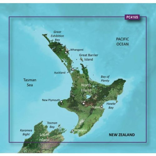 (Garmin Bluechart G2 - HXPC416S - New Zealand North - MicroSD & SD)