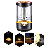 UL Portable COB Camping Lantern 3 Modes USB Rechargeable Emergency Light Night Lamp