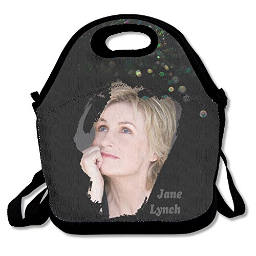 Kik Costume Party (BigLays Jane Lynch Lunch Tote Bag Lunch Box Neoprene Tote For Kids And Adults For Travel And Picnic School)
