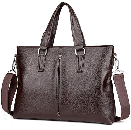 Shoulder Business Brown1 's Bag Handbag Computer Men Leather Official Messenger q0znA