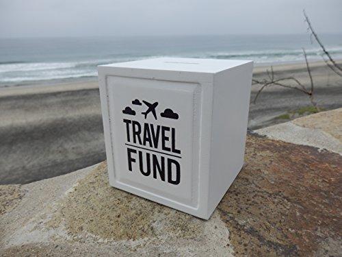 Travel fund piggy bank wedding and travel gift ideas for Travel fund piggy bank