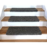 Tread Comfort Padded Adhesive Bullnose Stair Treads, Runners & Rugs Collection (Single 27