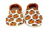 Pumpkin Baby Shoes